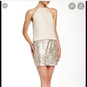 Jessica Simpson sequined dress